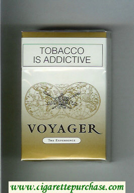 Voyager The Experience cigarettes Virginia Blend hard box