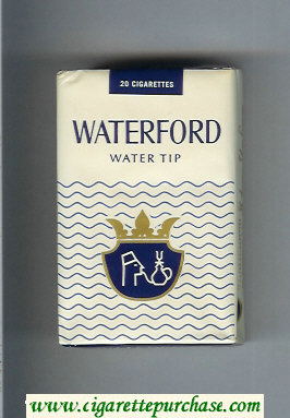 Waterford Water Tip cigarettes soft box
