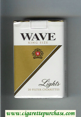Discount Wave Lights cigarettes soft box