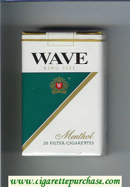 Discount Wave Menthol cigarettes soft box