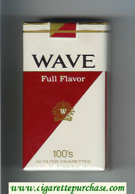 Wave Full Flavor 100s cigarettes soft box