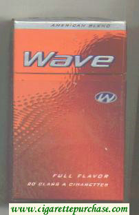 Wave Full Flavor cigarettes hard box