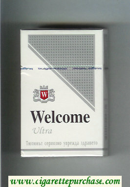 Welcome Ultra cigarettes hard box