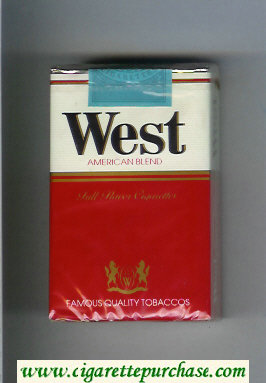 West American Blend Full Flavor cigarettes soft box