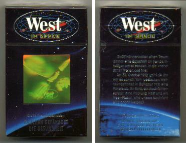 West In Space 1 cigarettes hard box