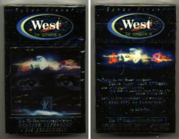 West In Space 2 cigarettes hard box