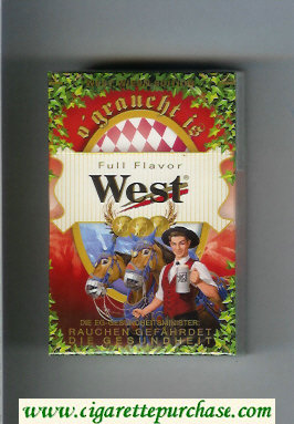West 'R' Full Flavor West Wiesn - Edition cigarettes hard box