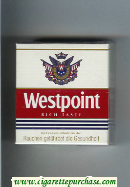 Westpoint Rich Taste 30 cigarettes hard box
