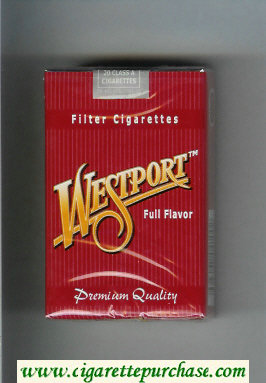 Westport Full Flavor Premium Quality Filter cigarettes soft box