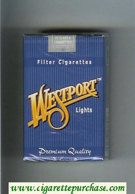 Westport Lights Premium Quality cigarettes soft box