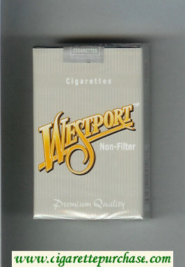 Westport Non-Filter Premium Quality cigarettes soft box
