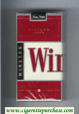 Winston Filters 100s cigarettes soft box