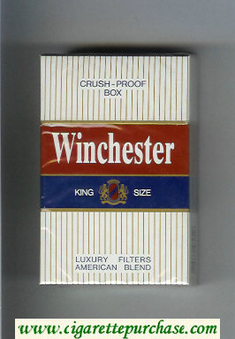 Winchester Luxury Filters American Blend Cigarettes hard box