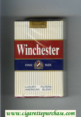Winchester Luxury Filters American Blend Cigarettes soft box