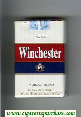 Winchester American Blend Cigarettes soft box