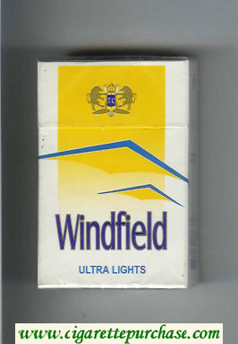 Discount Windfield Ultra Lights Cigarettes hard box