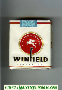 Winfield Toasted American Cigarettes soft box