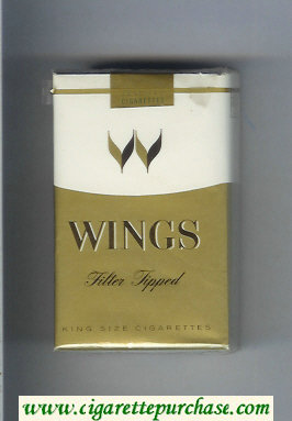 Wings Filter Tipped Cigarettes soft box