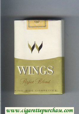 Wings Perfect Blend Cigarettes soft box