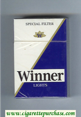 Winner Lights Special Filter Cigarettes hard box
