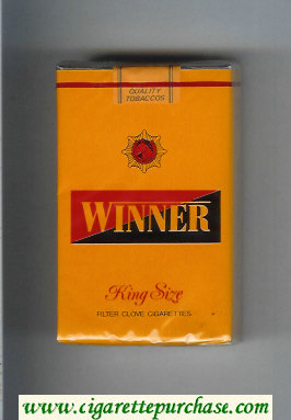 Winner King Size Cigarettes soft box