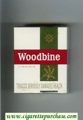 Woodbine Virginia Cigarettes hard box