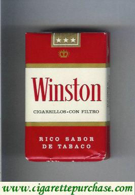 Discount Winston Cigarillos Con Filtro cigarettes soft box