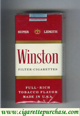 Discount Winston Filter 100s Cigarettes soft box