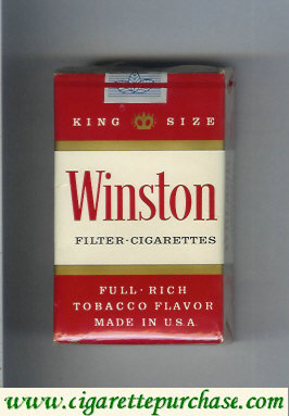 Discount Winston Filter Cigarettes soft box