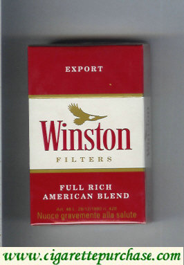 Discount Winston Filter cigarettes hard box