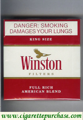 Discount Winston Filters cigarettes American Blend