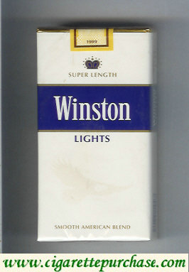 Discount Winston Lights 100s cigarettes soft box