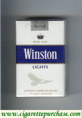Discount Winston Lights cigarettes soft box