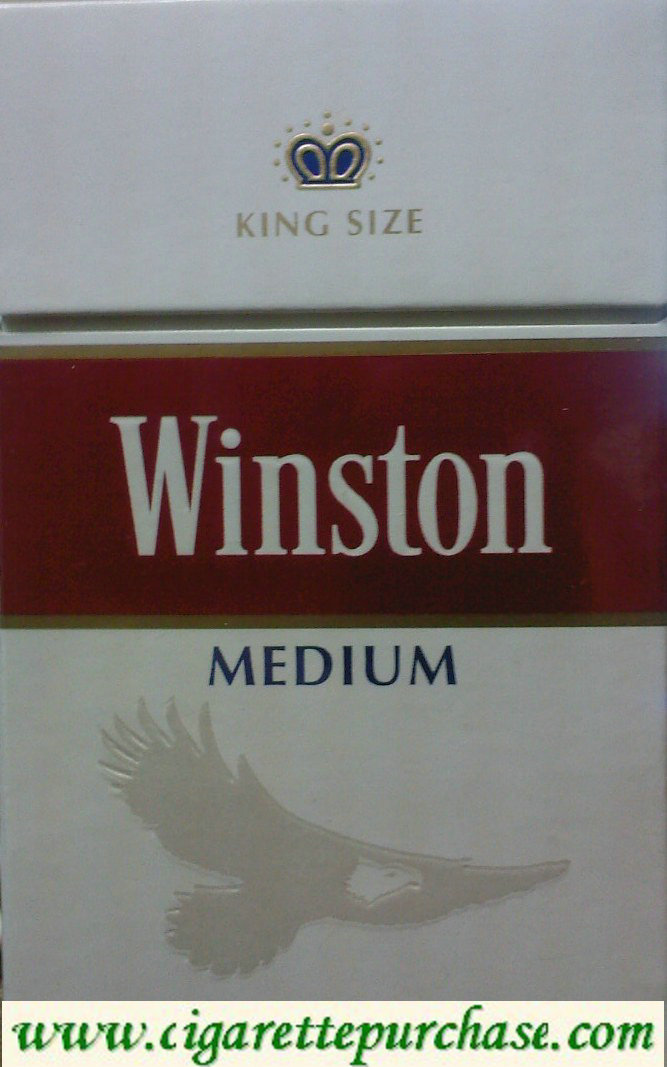Discount Winston MEDIUM Cigarettes Soft box