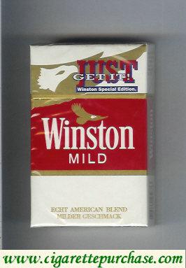Discount Winston Mild cigarettes American Blend