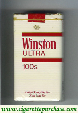 Discount Winston Ultra 100s cigarettes soft box