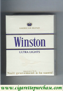 Discount Winston Ultra Lights 25 cigarettes American Blend