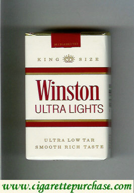 Discount Winston Ultra Lights cigarettes soft box