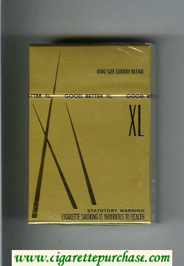 XL cigarettes hard box