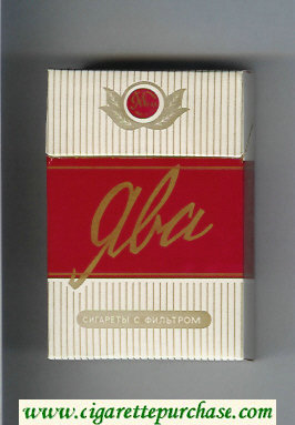 Yava hard box cigarettes