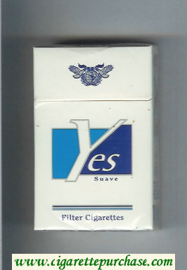 Yes Suave cigarettes hard box