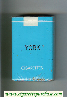 York cigarettes soft box
