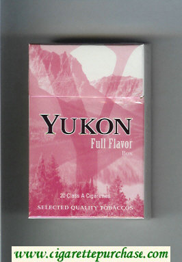 Yukon Full Flavor cigarettes hard box