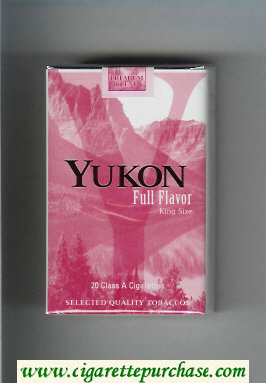 Yukon Full Flavor cigarettes soft box