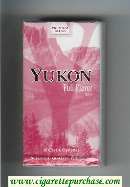 Yukon Full Flavor 100s cigarettes soft box
