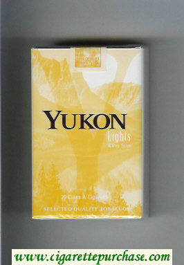 Yukon Lights cigarettes soft box