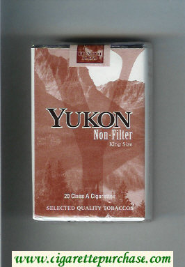 Yukon Non-Filter cigarettes soft box