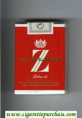 Discount Z Auslese cigarettes soft box