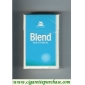Blend Menthol cigarettes Selected Tobaccos king size
